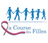 Logo La course des filles pour la ligue contre le cancer en Haute-Loire